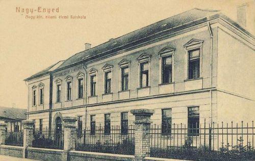 Nagyenyed:Magyar Királyi Állami Elemi Fiúiskola.1909
