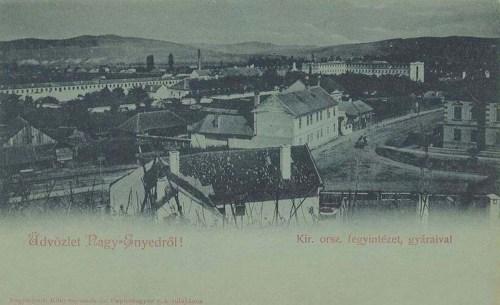 Nagyenyed-Strassburg-Aiud:Fegyintézet gyáraival.1899