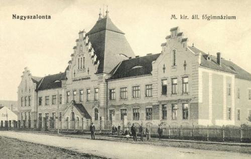 Nagyszalonta:Magyar Királyi Állami Gimnázium,1913.