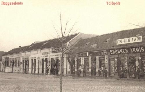 Kálmán László,Szilágyi és Társa,Badár Lajos,Brünner Ármin üzlete,1908.