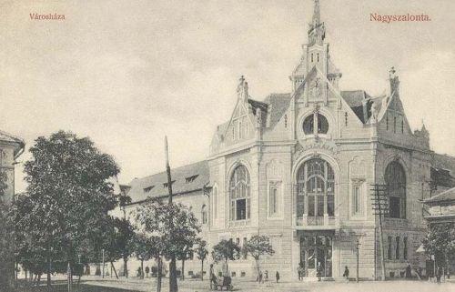 Nagyszentmiklós:Városháza.1909