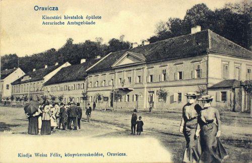 Oravicza-Orawitz-Oravita:Kincstári Hivatalok.1901