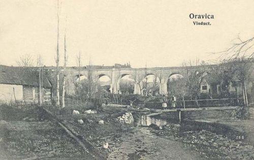 Oravicza:viadukt.1912