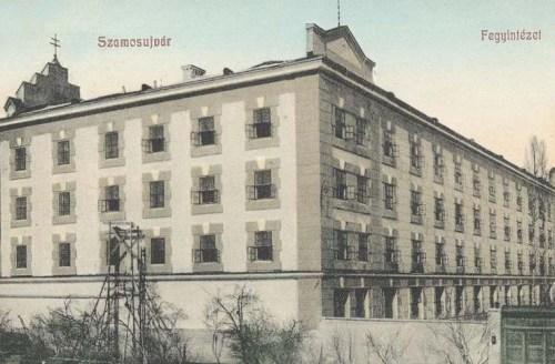 Szamosújvár:Fegyintézet.(börtön).1909