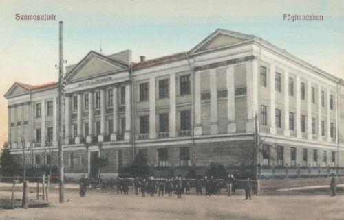 Szamosújvár:főgimnázium.1909