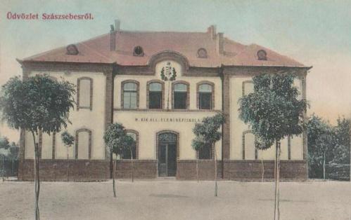 Szászsebes:Magyar Királyi Elemi Népiskola.1909
