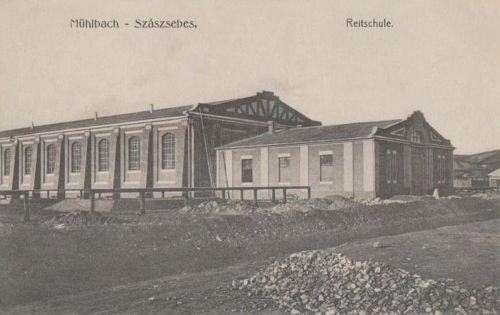 Szászsebes:lovas iskola.1915