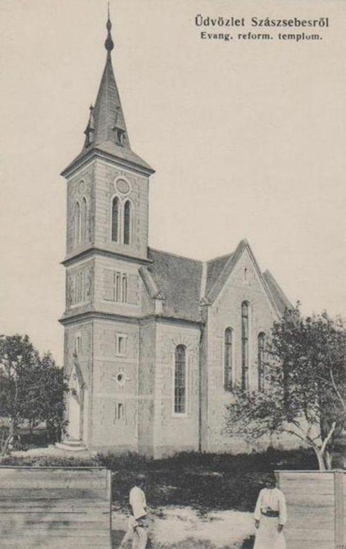 Szászsebes:református templom.1916