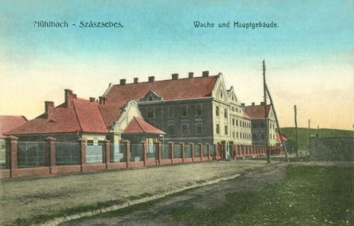 Szászsebes:vizmű főépülete.1915