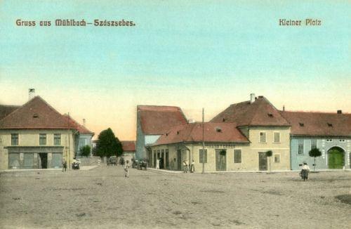 Szászsebes:Kis tér.1909