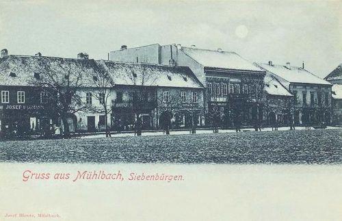 Szászsebes:főtér.1899