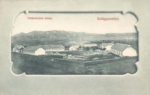 Szilágysomlyó-Schomlenmarkt-Simleu Silvaniei:Földművelési iskola.1902