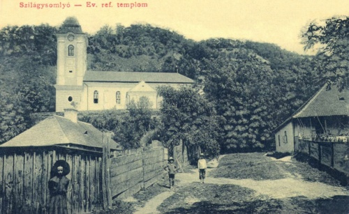 Szilágysomlyó:református templom,1908.