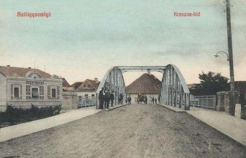 Szilágysomlyó:Kraszna hid.1908