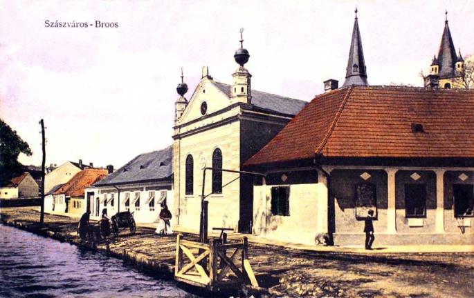 Szászváros:zsinagóga.1914