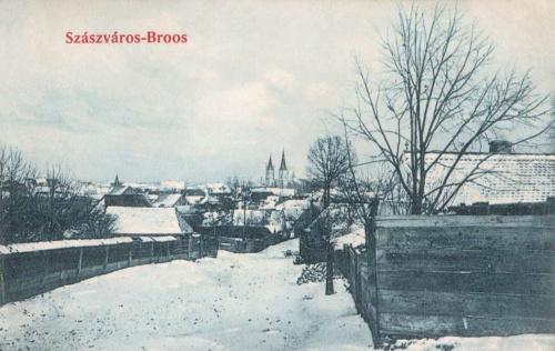 Szászváros:téli látkép.1910