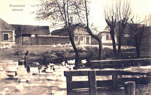 Szászváros:patak.1915
