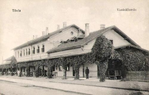Tövis:vasútállomás.1912