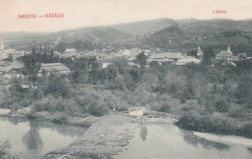 Naszód:látkép.1909
