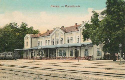 Alvinc:vasútállomás.1908