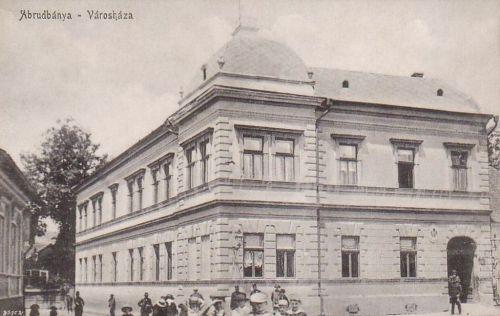 Arudbánya:városháza.1915