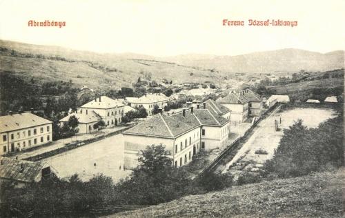 Abrudbánya:Ferencz József laktanya.1909