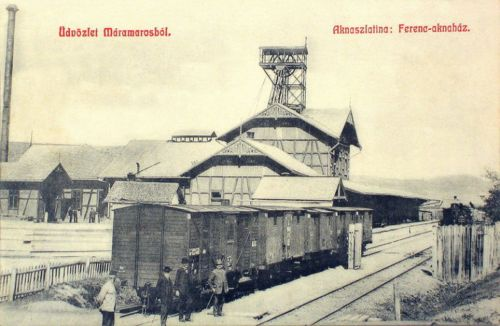Aknaszlatina:Ferencz akna.1908