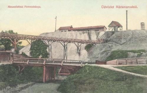 Aknaszlatina:Ferencz bánya.1909