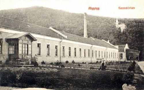 Algyógy:Szanatórium.1908