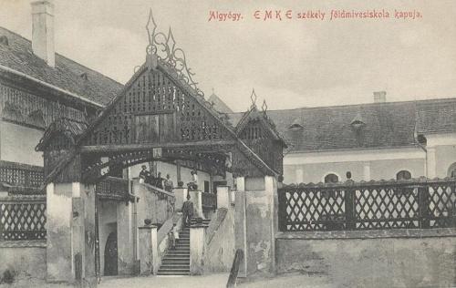 Algyógy-Gelgesdorf-Geoagiu:EMKE székely földműves iskola 1910