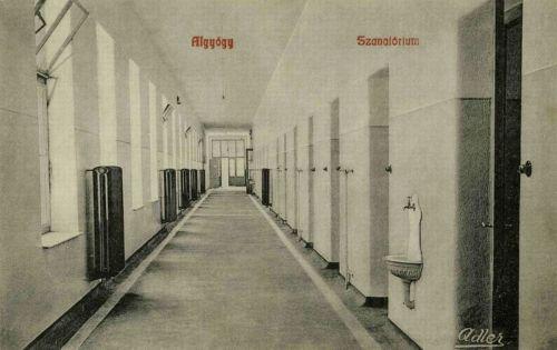 Algyógy:Szanatórium belseje.1908