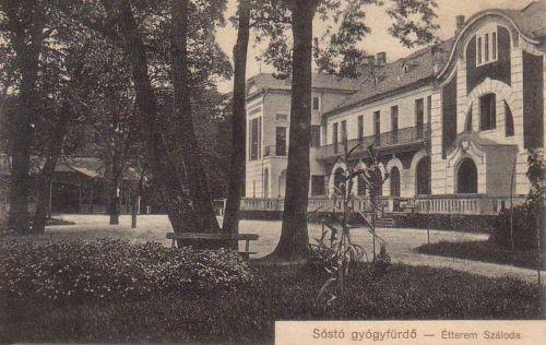 Algyógy: szálloda és étterem.1912