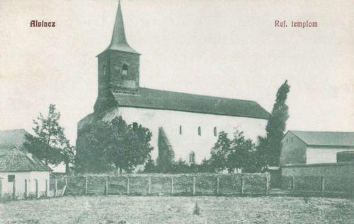 Alvincz:református templom.1909