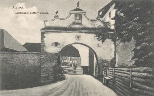 Alvincz:Martinuzzi várkastély.1912