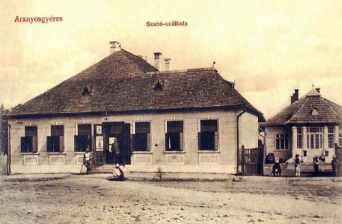 Aranyosgyéres:Szabó szálloda.1912
