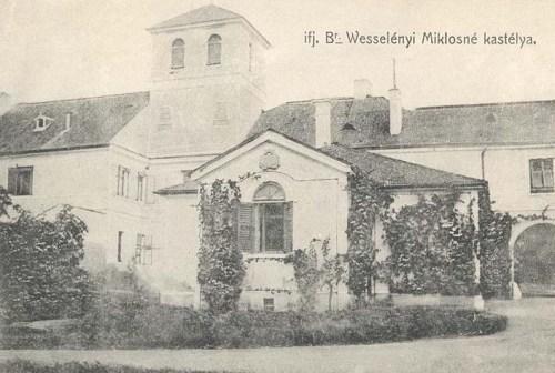 Aranyosgyéres: ifj.báró Wesselényi Miklósné kastélya.1915
