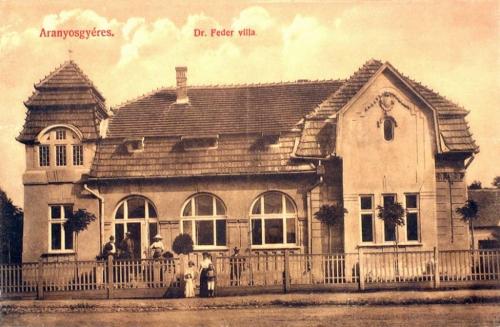 Aranyosgyéres-Jerischmarkt-Campia Turzii:Dr.Feder villa 1912
