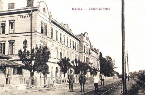 Báziás:vasútállomás.1915