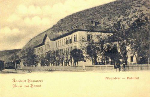 Báziás:pályaudvar.1901