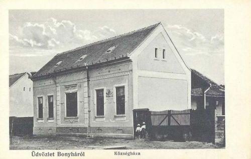 Bonyha:Községháza (ma óvoda).1912