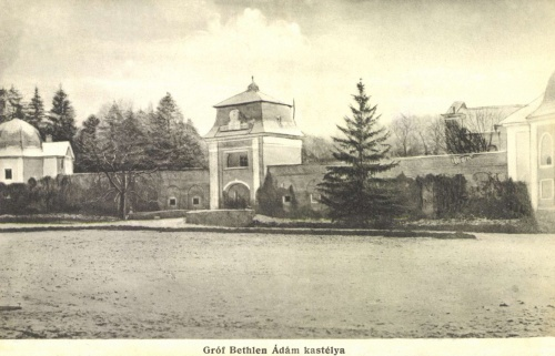 Bonyha:gróf Bethlen Ádám kastélya,1906
