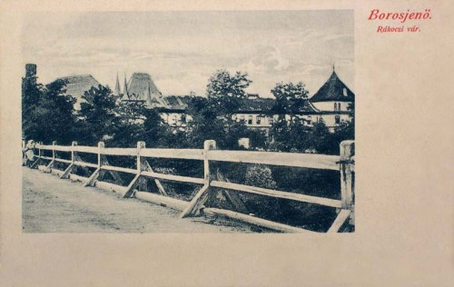 Borosjenő:Rákóczi vár.1904
