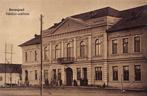 Borosjenő:Rákóczi szálloda.1912