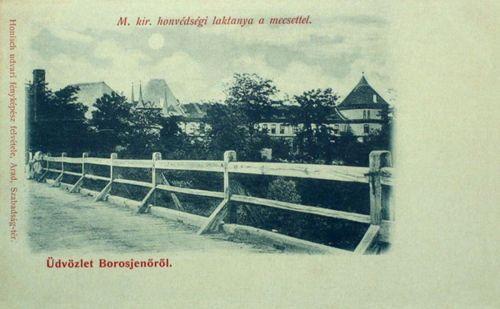 Borosjenő-Ineu:Magyar Királyi Honvédségi Laktanya.1899