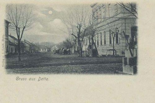 Detta:főtér.1900