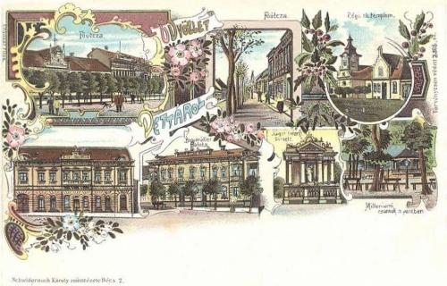 Detta-Deta,kőnyomat 1899