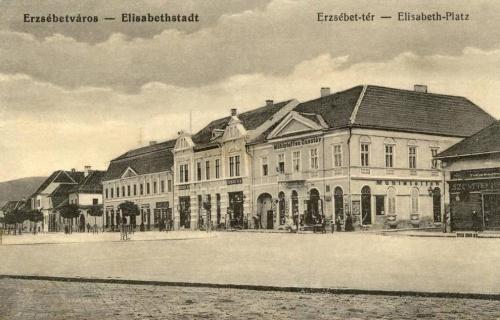 Erzsébetváros:Erzsébet tér.1915