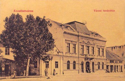 Erzsébetváros:városi tanácsház.1909