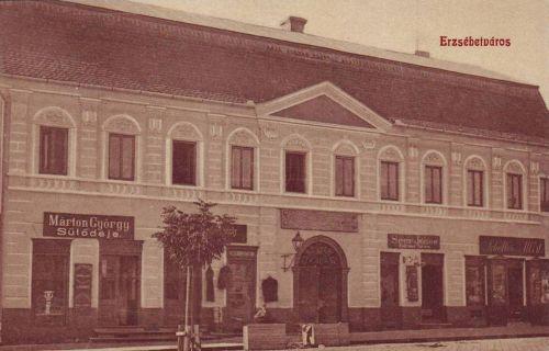 Erzsébetváros:sütőde pékség.1909