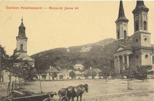 Felsőbánya,Hunyadi János tér 1909